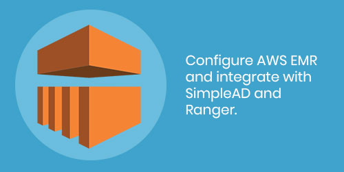 Configure AWS EMR and integrate with SimpleAD and Ranger